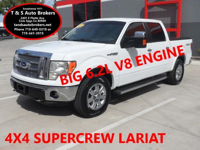 2012 Ford F-150 6.2L V8 Lariat Crew 4x4