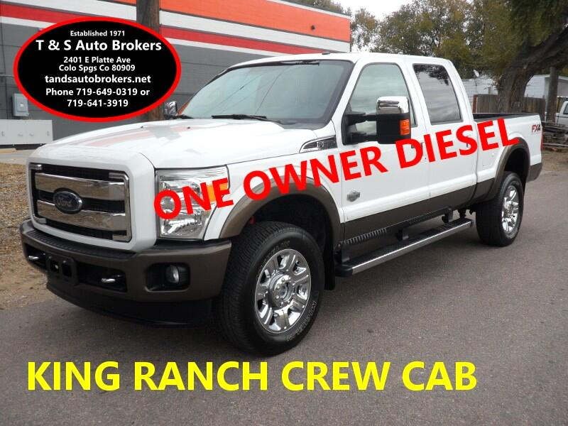 2016 Ford F-350 SD ONE OWNER CREW CAB 4X4 DIESEL