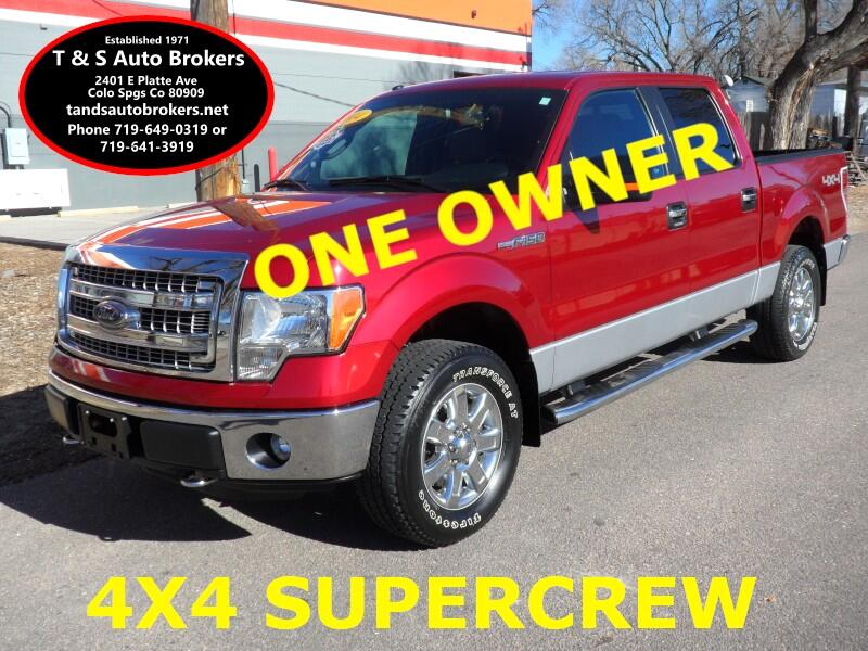 2014 Ford F-150 XL SuperCrew 5.5-ft. Bed 4WD