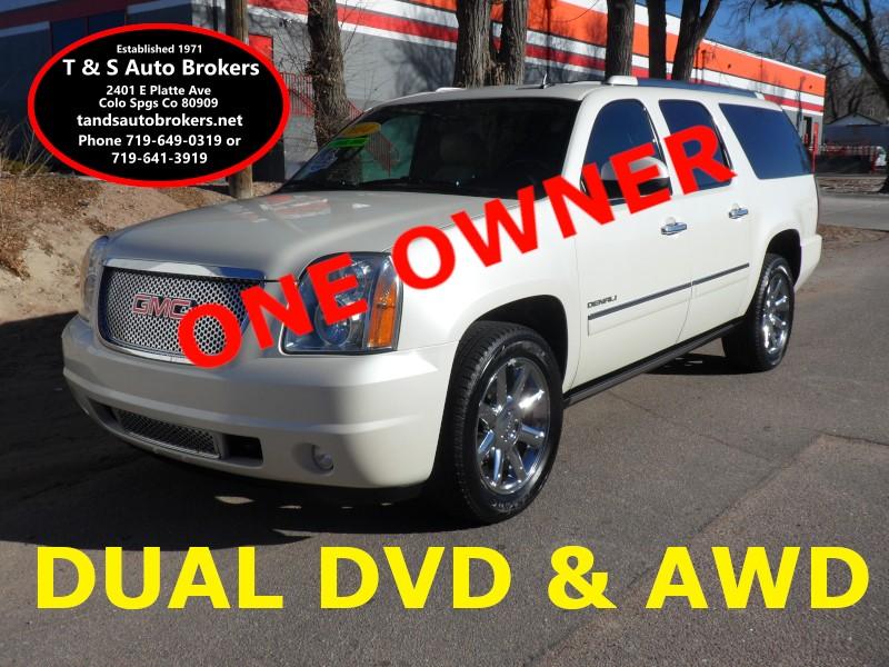 2014 GMC Yukon Denali 1 OWNER AWD LOADED XL