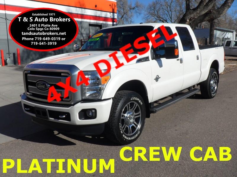 2016 Ford F-350 SD Platinum Diesel 4x4 Crew Cab