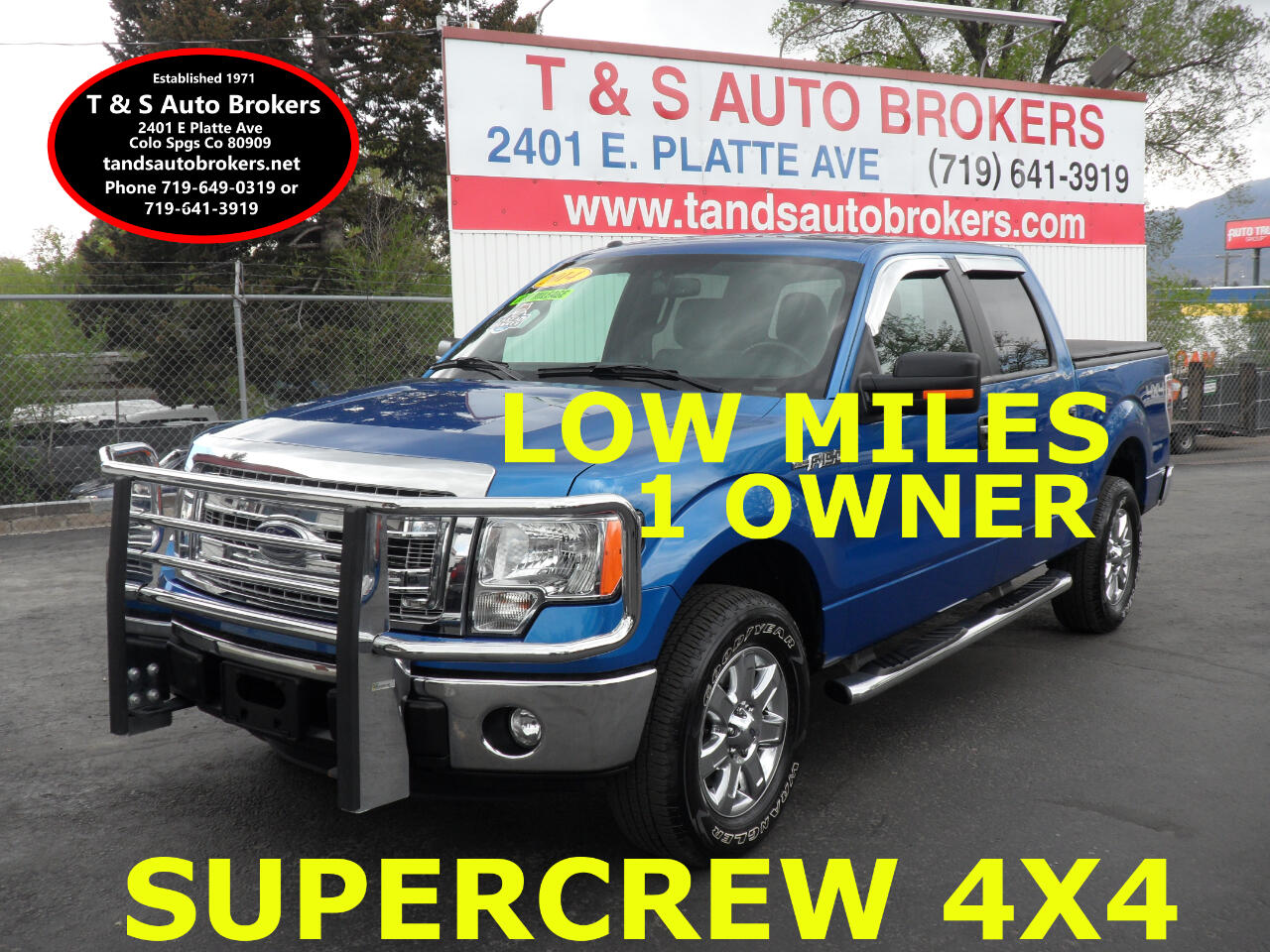 2014 Ford F-150 LOW MILE XLT 4X4 SUPERCREW