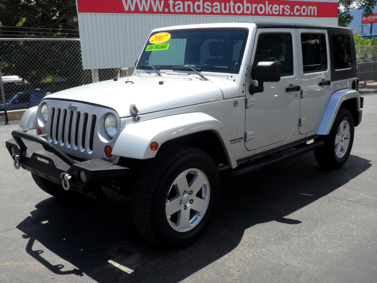 2007 Jeep Wrangler LOW MILE SAHARA UNLIMITED