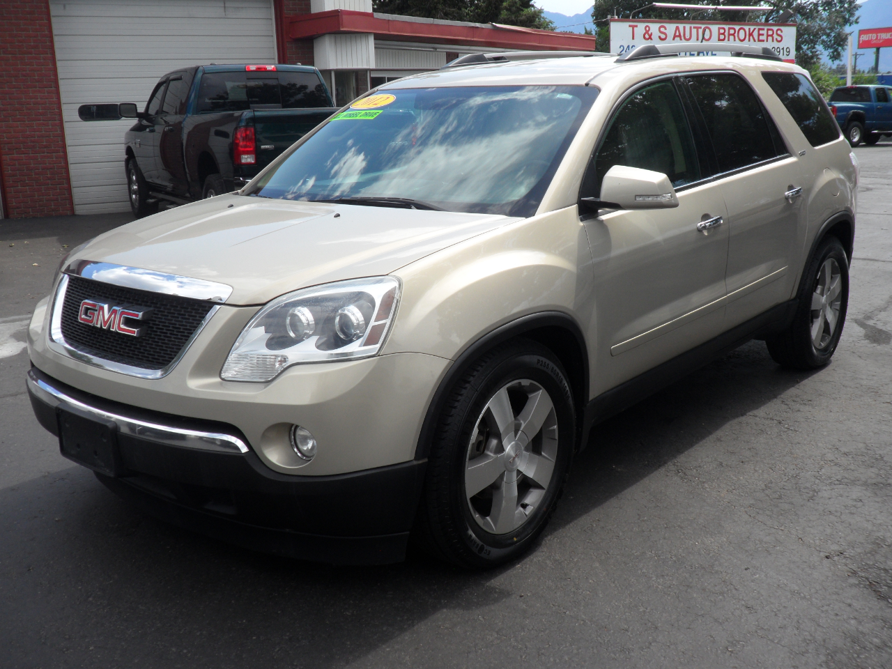 Used 2012 Gmc Acadia Slt 1 Awd For Sale In Colorado Springs Co