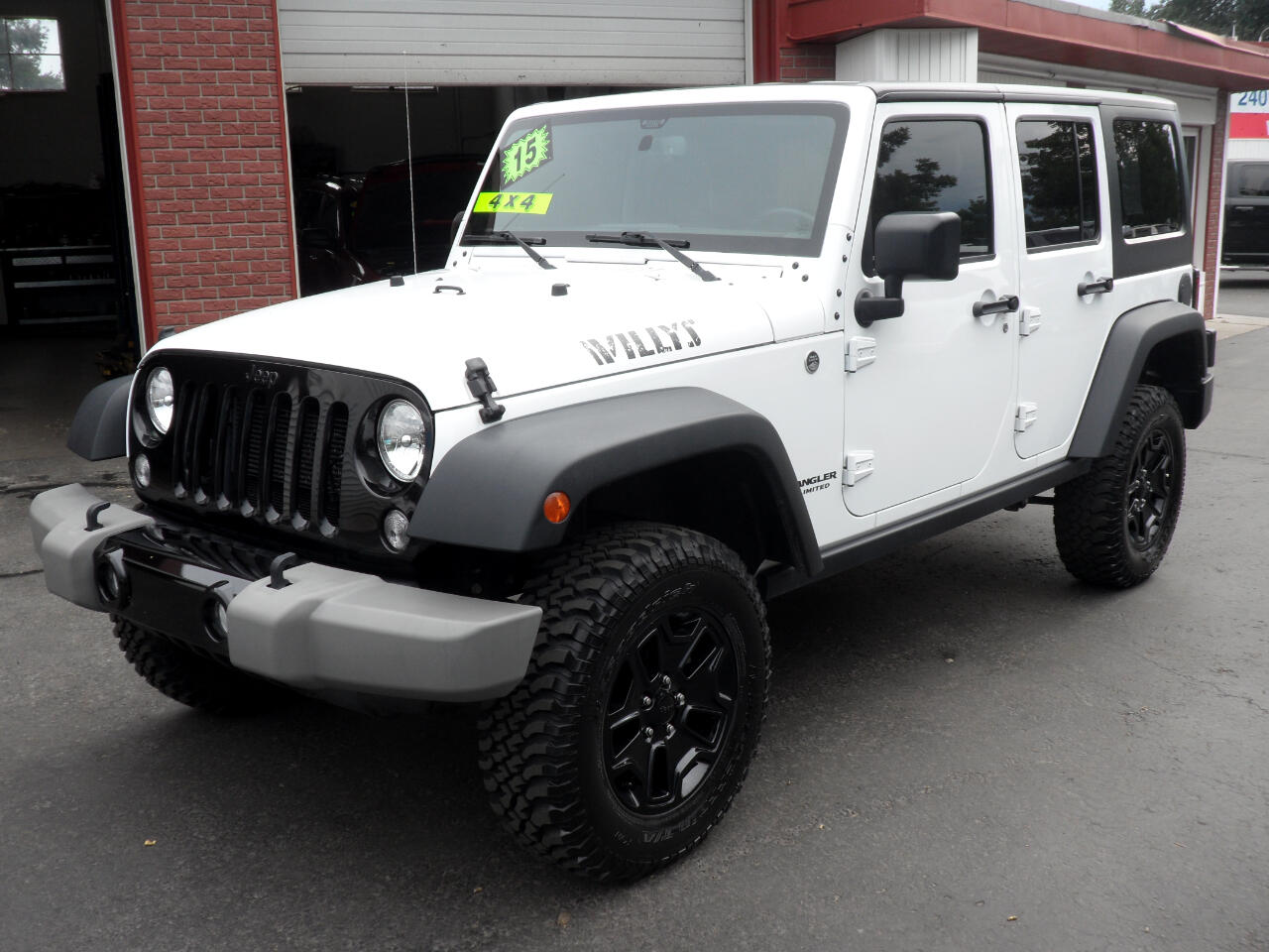 2015 Jeep Wrangler UNLIMITED WILLYS FACTORY HARD TOP