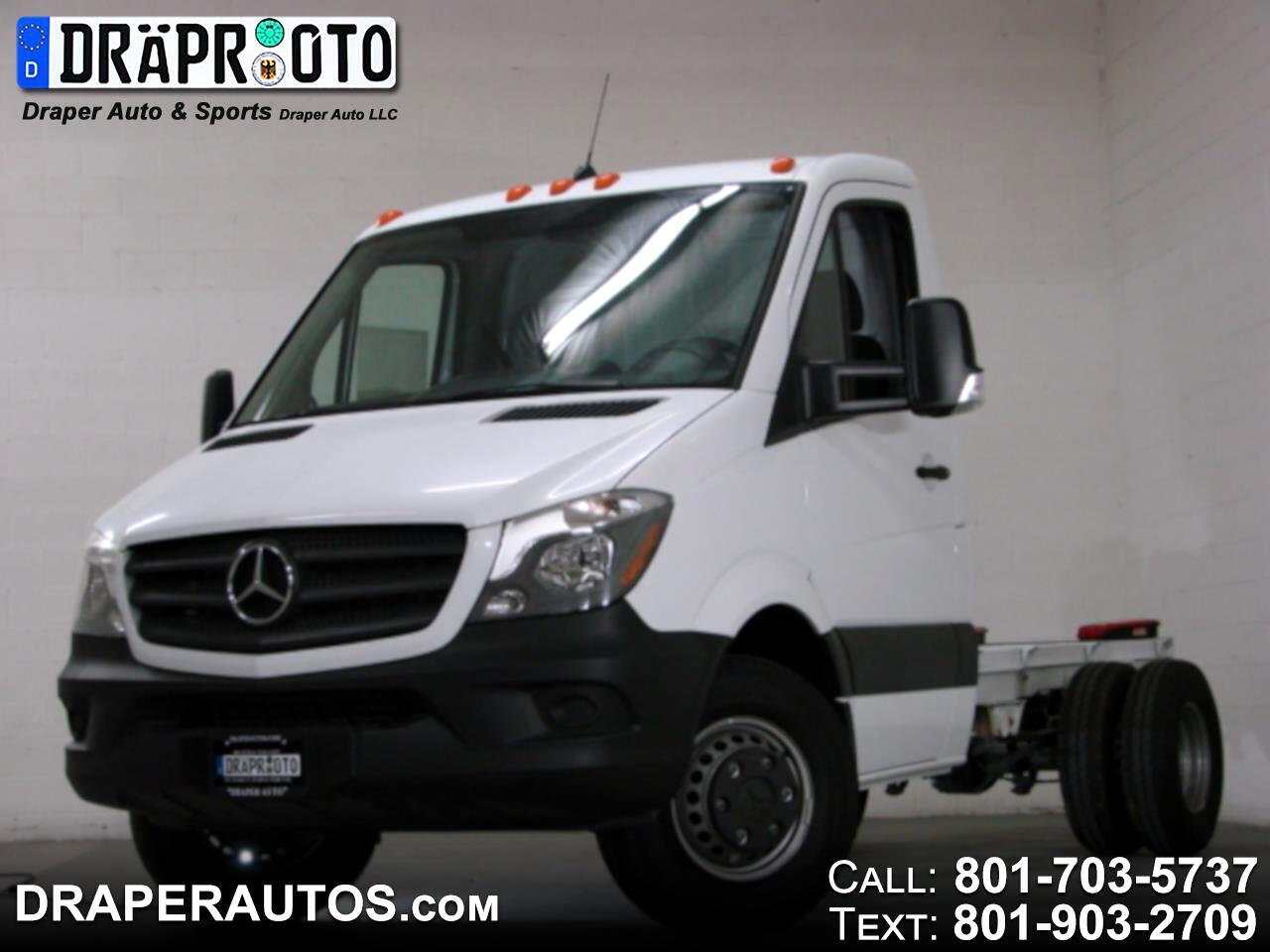 2017 Mercedes-Benz Sprinter Chassis-Cabs 3500 Cab Chassis 144