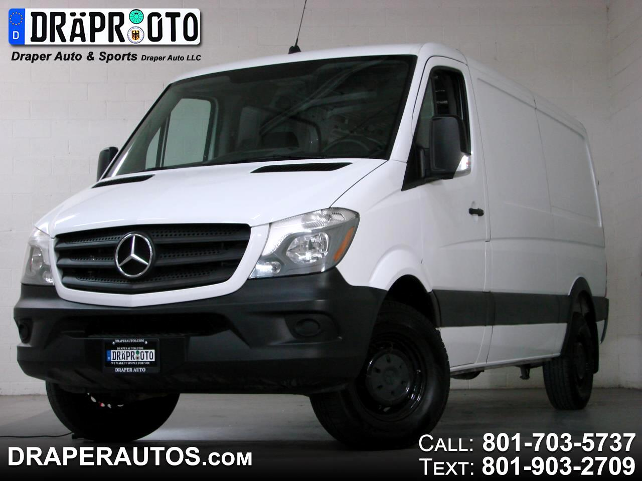 "Mercedes-Benz Sprinter Cargo Van 2500 Standard Roof V6 144"" Worker RWD 2017"