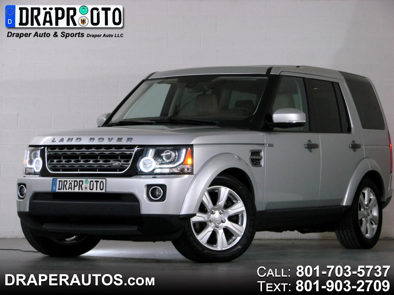 2014 Land Rover LR4 4WD 4dr HSE