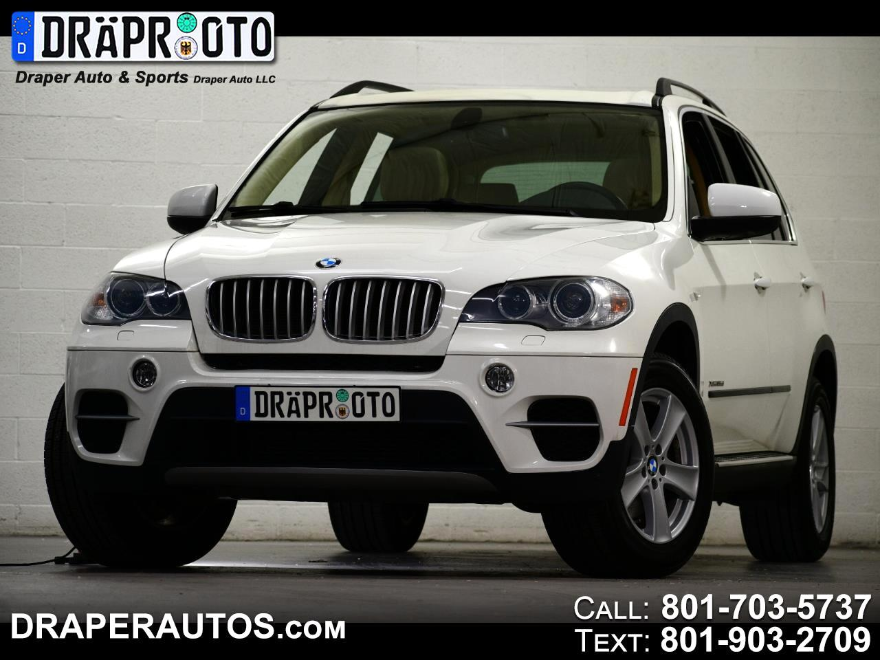 BMW X5 AWD 4dr xDrive35d 2013
