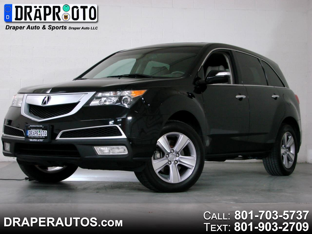 Acura MDX AWD 4dr Tech/Entertainment Pkg 2013