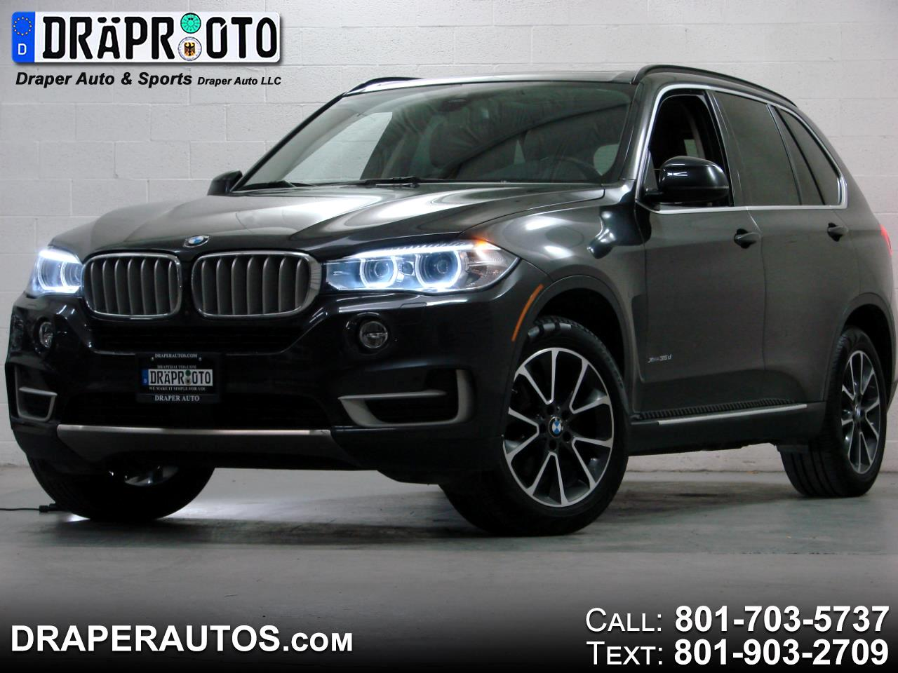 2016 BMW X5 AWD 4dr xDrive35d