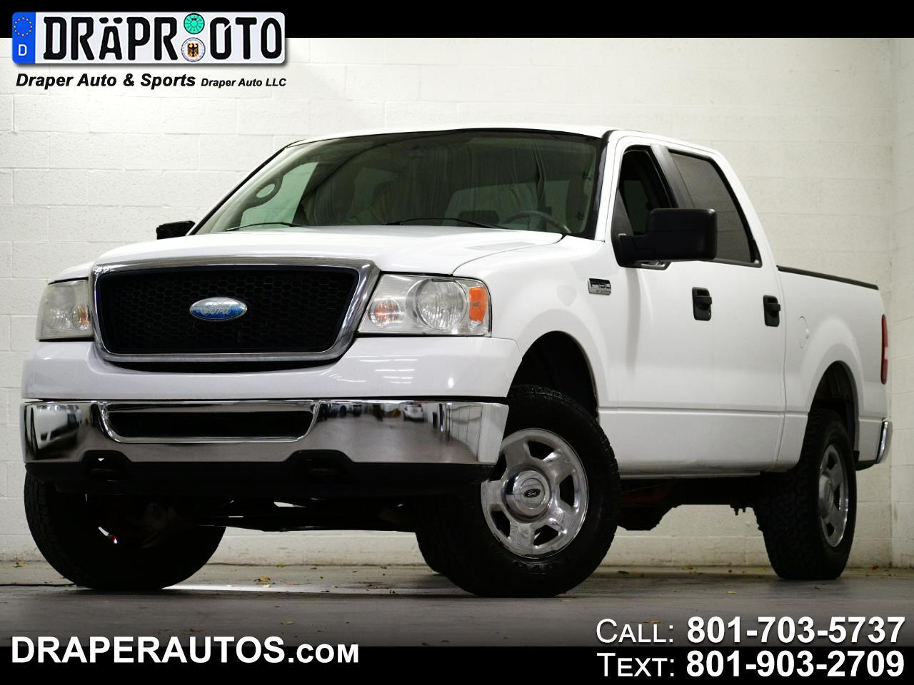 "Ford F-150 4WD SuperCrew 150"" XLT 2008"