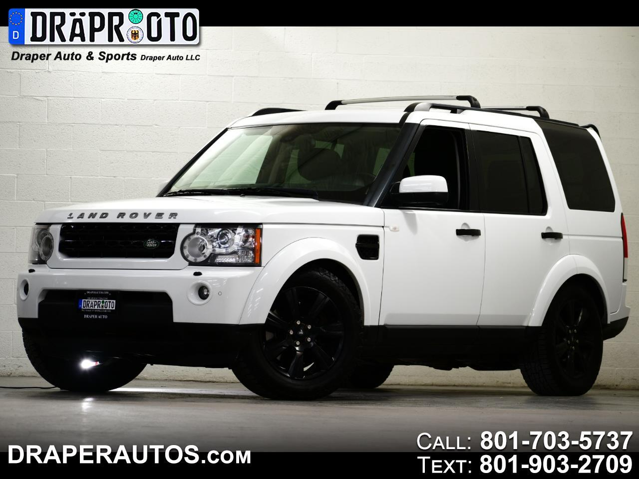 Land Rover LR4 4WD 4dr LUX 2013