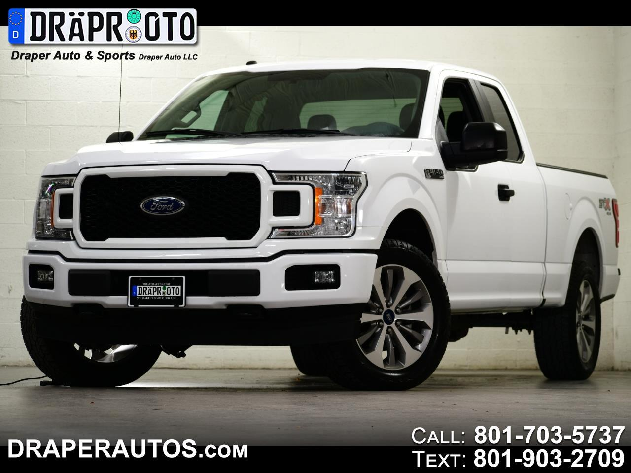 Ford F-150 STX SuperCab 6.5-ft. Bed 4WD 2018