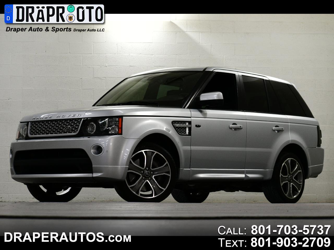 Land Rover Range Rover Sport 4WD 4dr SC Autobiography 2013