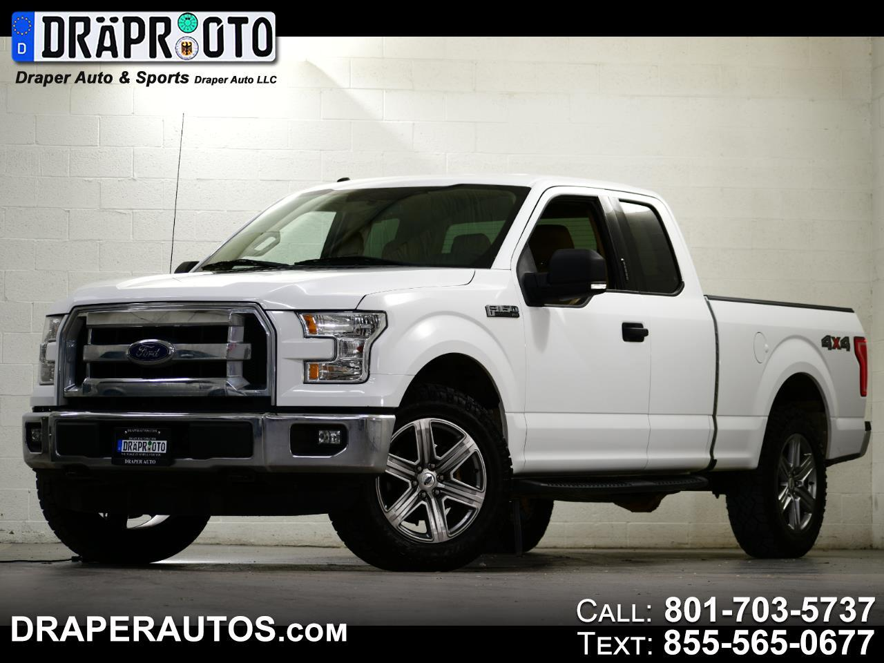 """Ford F-150 4WD SuperCab 163"""" XLT w/HD Payload Pkg 2015"""