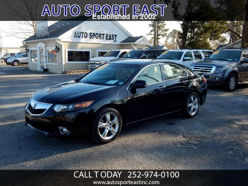2012 Acura TSX 5-speed AT