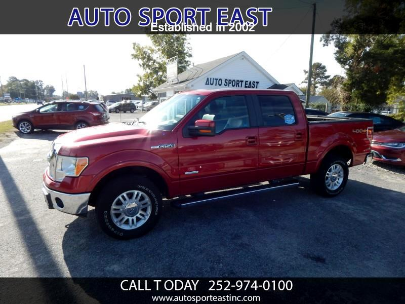 Ford F-150 Lariat SuperCrew Short Box 4WD 2011