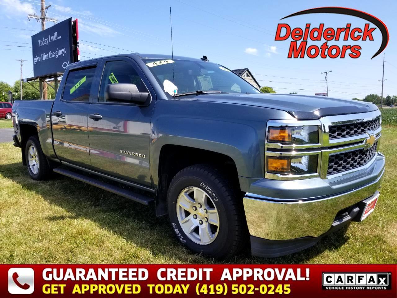 """2014 Chevrolet Silverado 1500 4WD Crew Cab 143.5"""" LT w/1LT"""