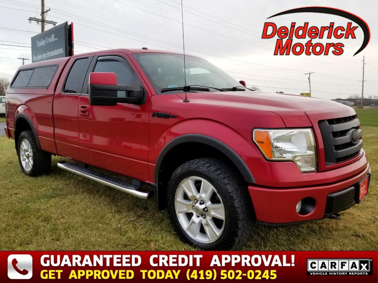 "Ford F-150 4WD SuperCab 145"" FX4 2010"