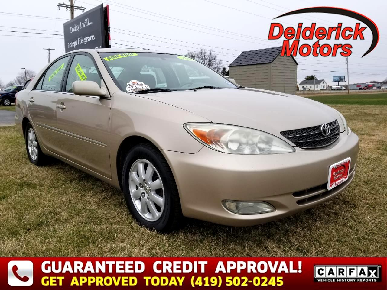 Toyota Camry 4dr Sdn XLE Auto (Natl) 2003