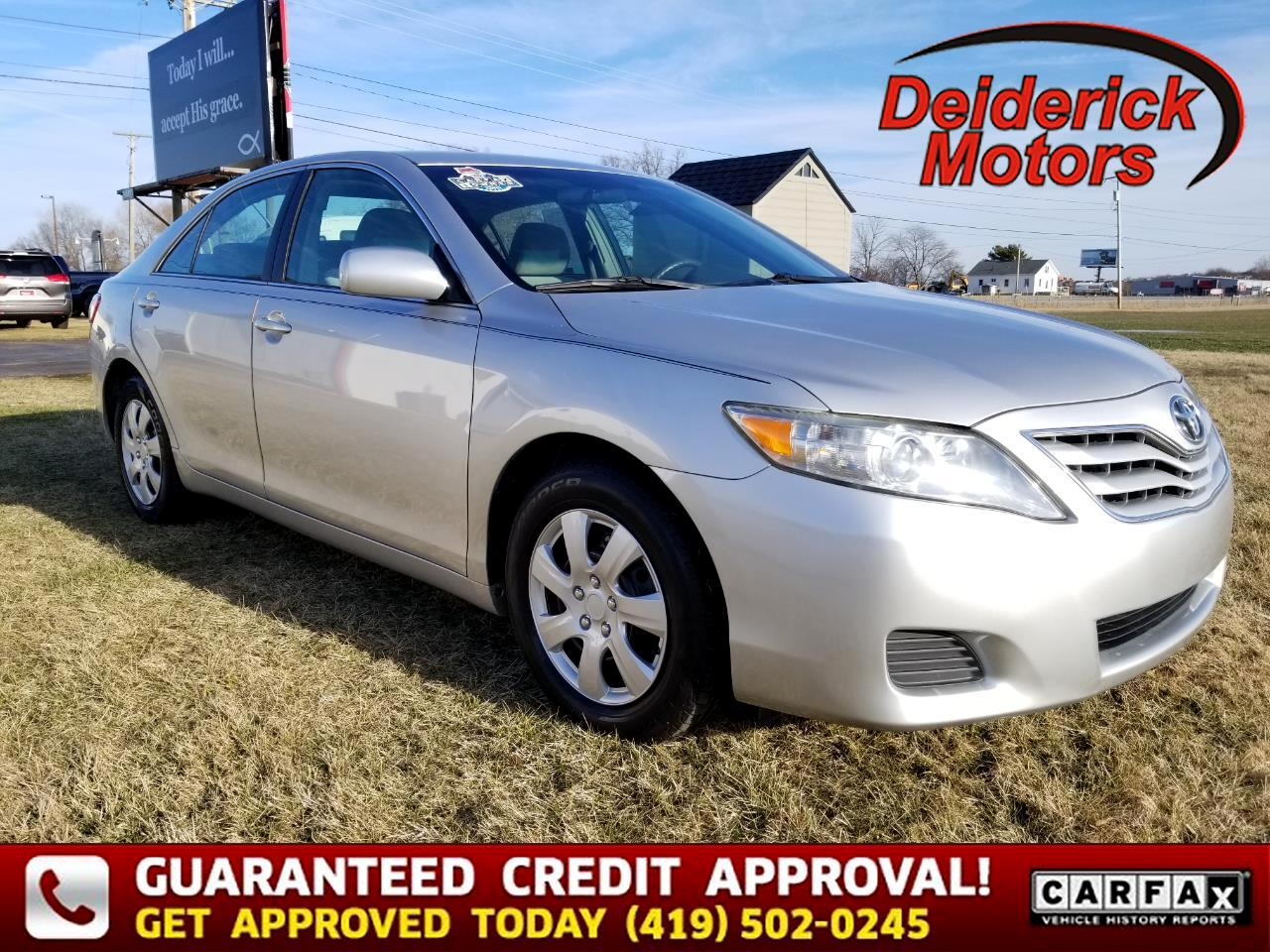 Toyota Camry 4dr Sdn I4 Auto LE (Natl) 2010