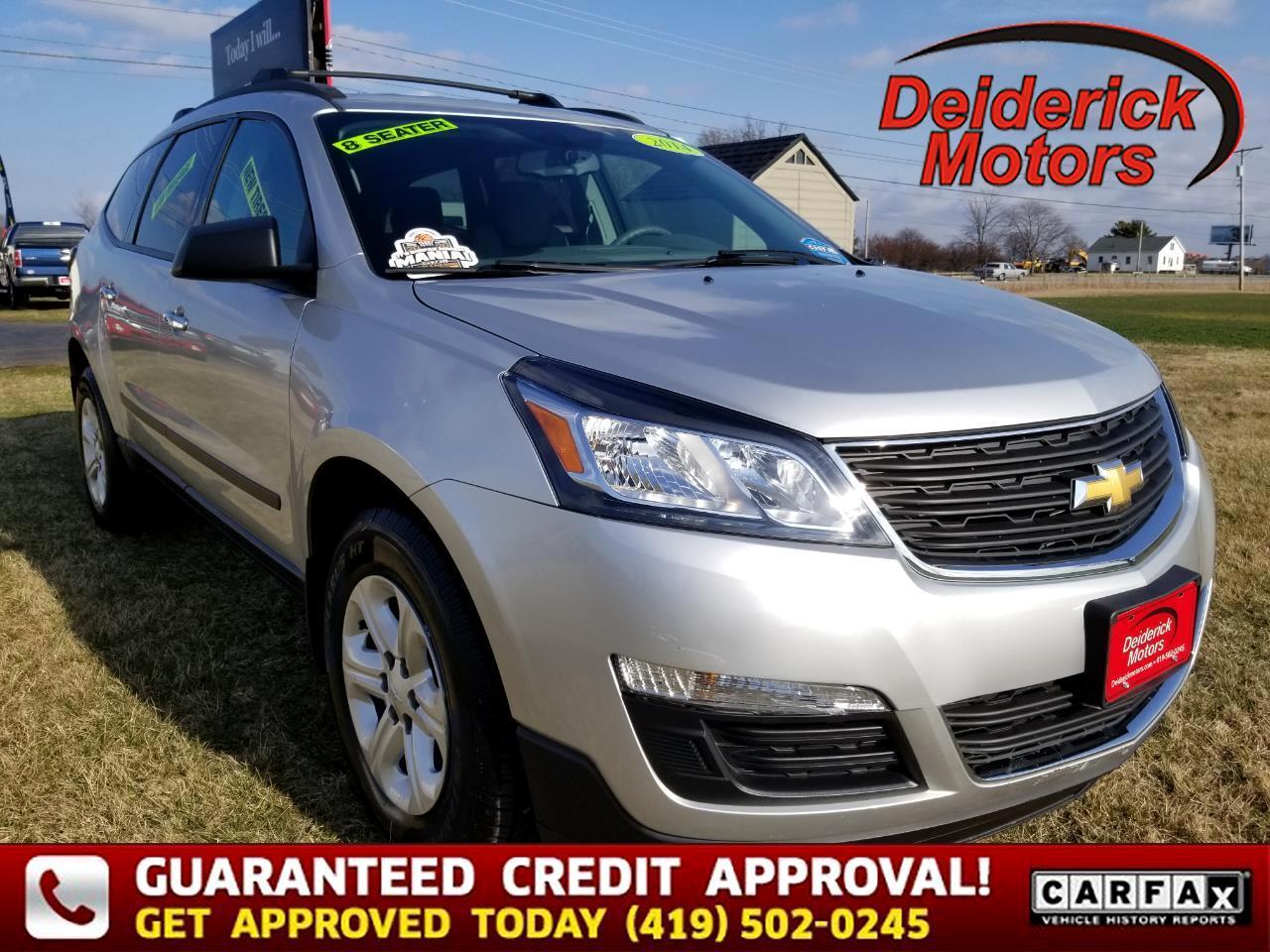 Chevrolet Traverse FWD 4dr LS 2014