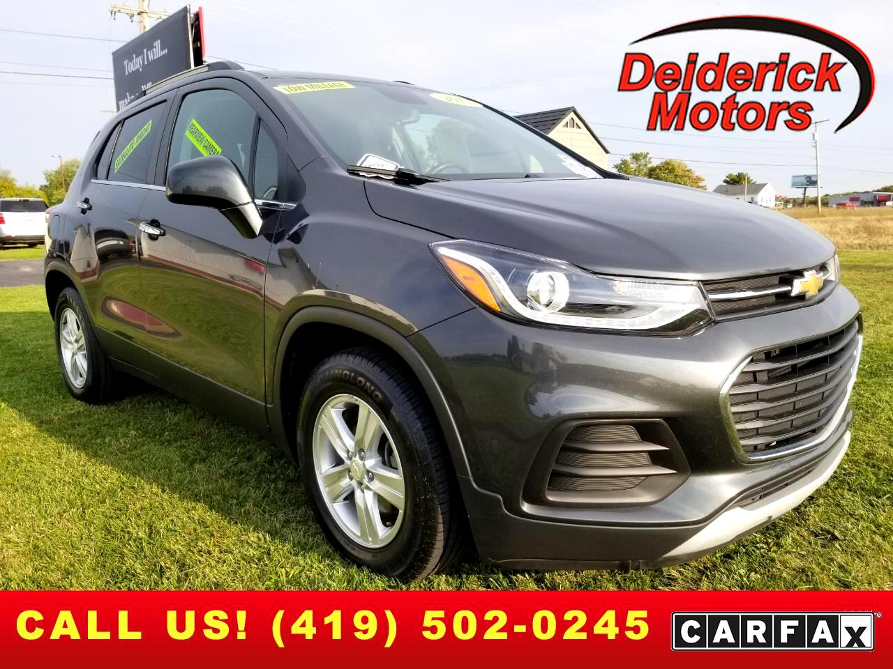 Chevrolet Trax FWD 4dr LT 2017