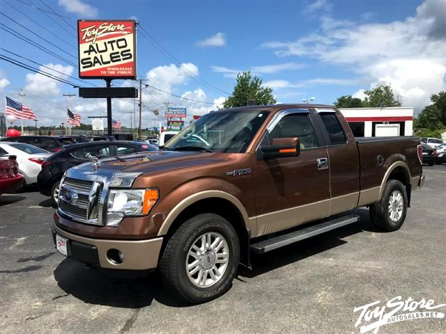 "2011 Ford F-150 4WD SuperCab 145"" Lariat"