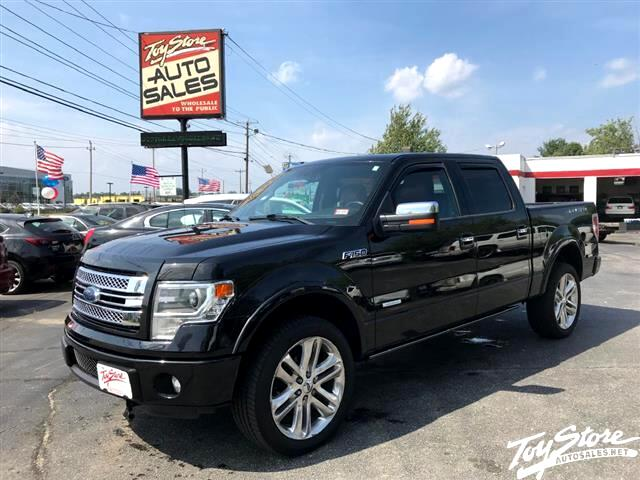"2013 Ford F-150 4WD SuperCrew 145"" Limited"