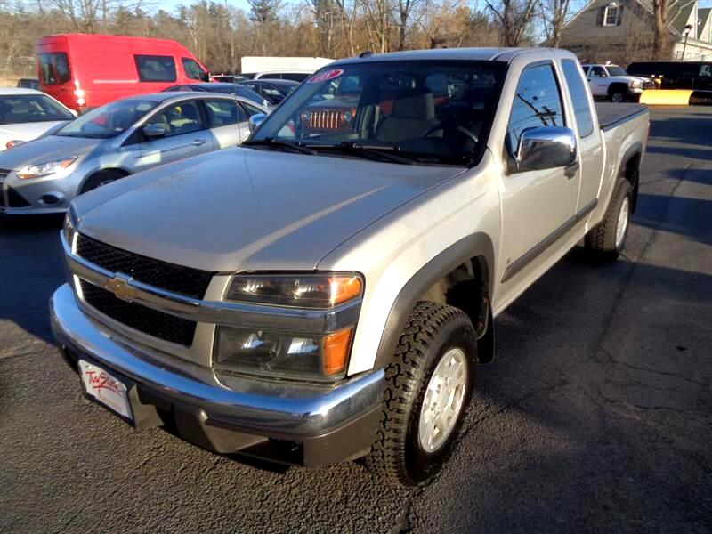 "2008 Chevrolet Colorado 4WD Ext Cab 125.9"" LT w/1LT"