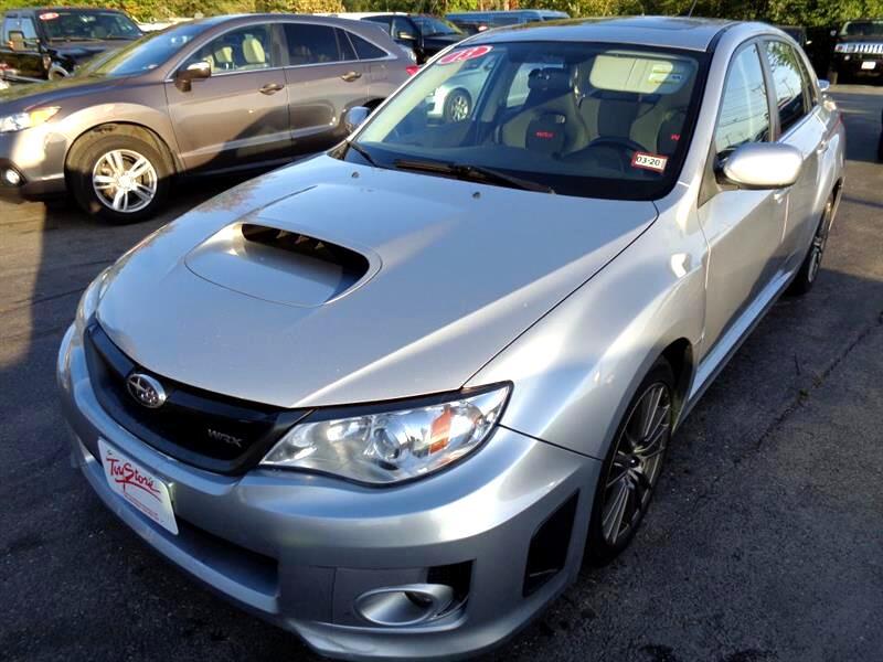 2013 Subaru Impreza Sedan WRX 4dr Man w/Premium Pkg