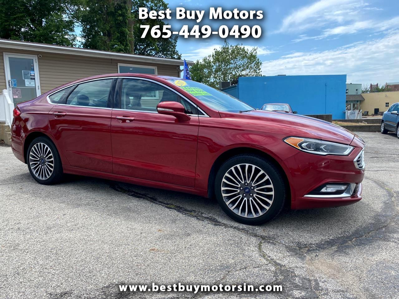 Ford Fusion SE AWD 2017