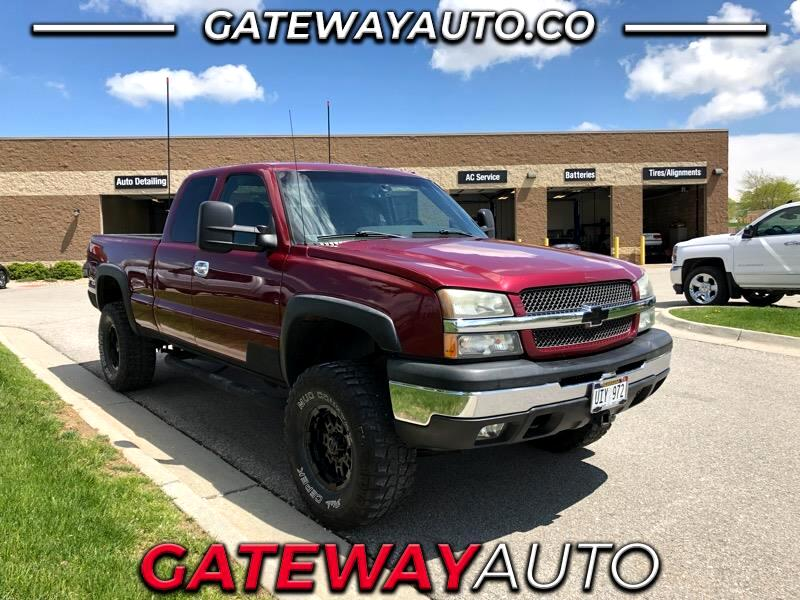 "2004 Chevrolet 1500 Extended Cab 117.5"" 4WD"