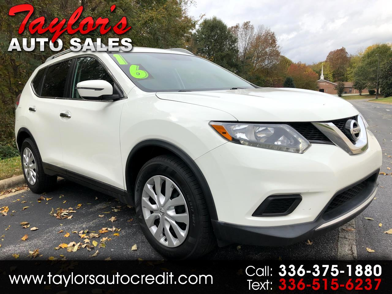 2016 Nissan Rogue FWD S