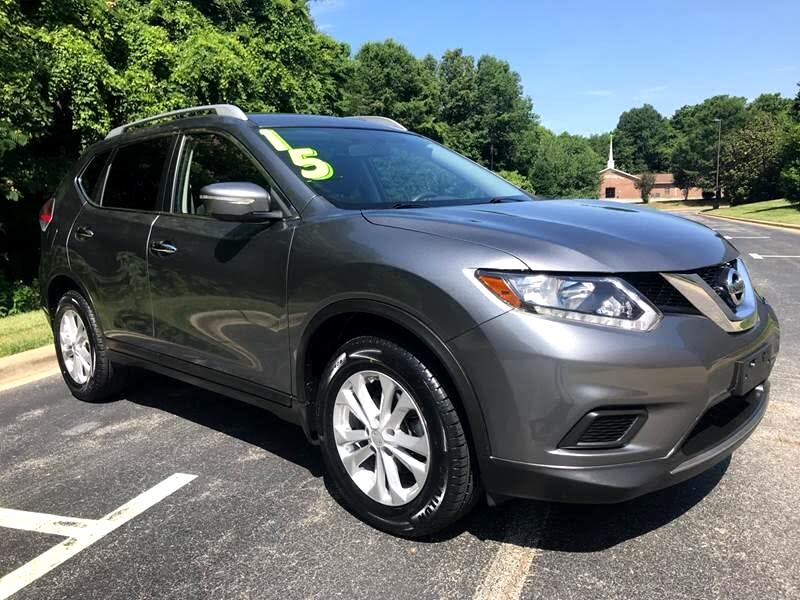 used 2015 nissan rogue sv awd for sale in greensboro nc 27405 taylor 39 s auto sales. Black Bedroom Furniture Sets. Home Design Ideas