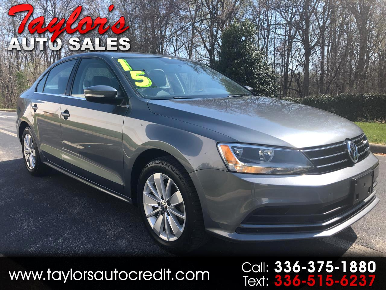 2015 Volkswagen Jetta Sedan 4dr Auto 1.8T SE w/Connectivity PZEV