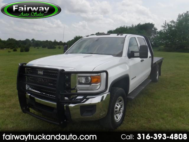 2015 GMC Sierra 3500HD 4wd Crew Cab Chassis