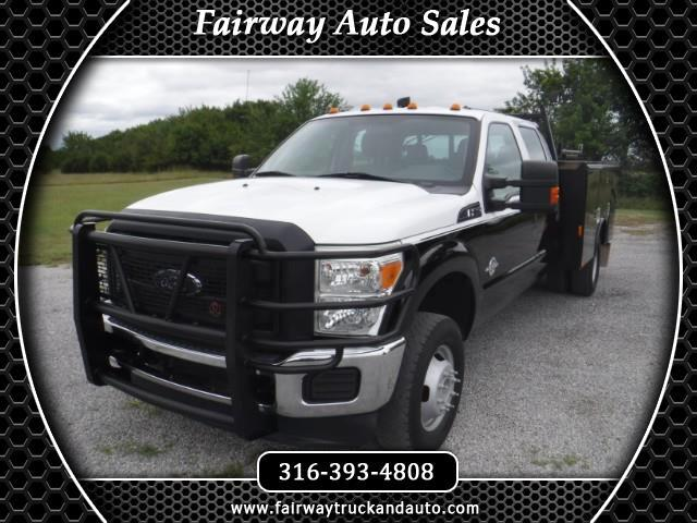 2012 Ford F-350 SD XL 4x4 4dr Crew Cab Utility Chassis