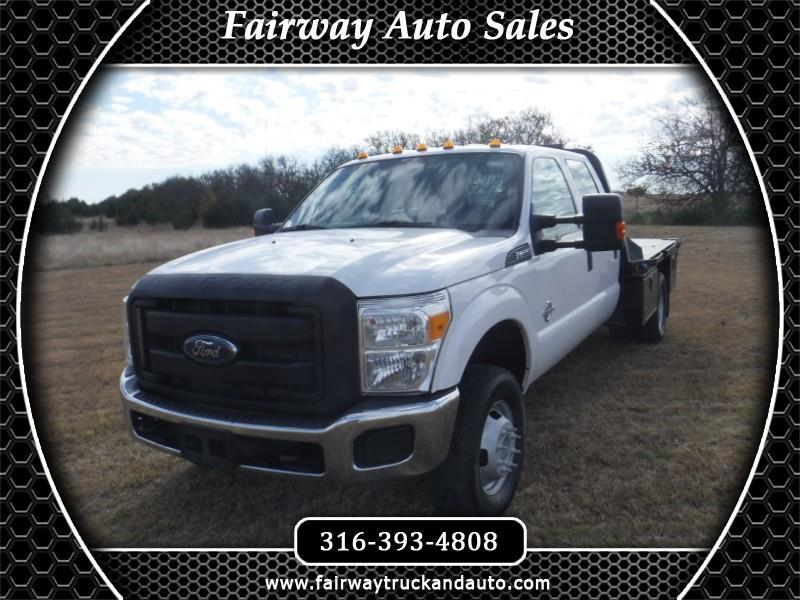 2015 Ford F-350 SD XL Crew Flat Bed
