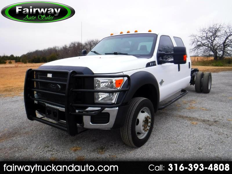 2013 Ford F-550 Crew Cab Cabin Chassis
