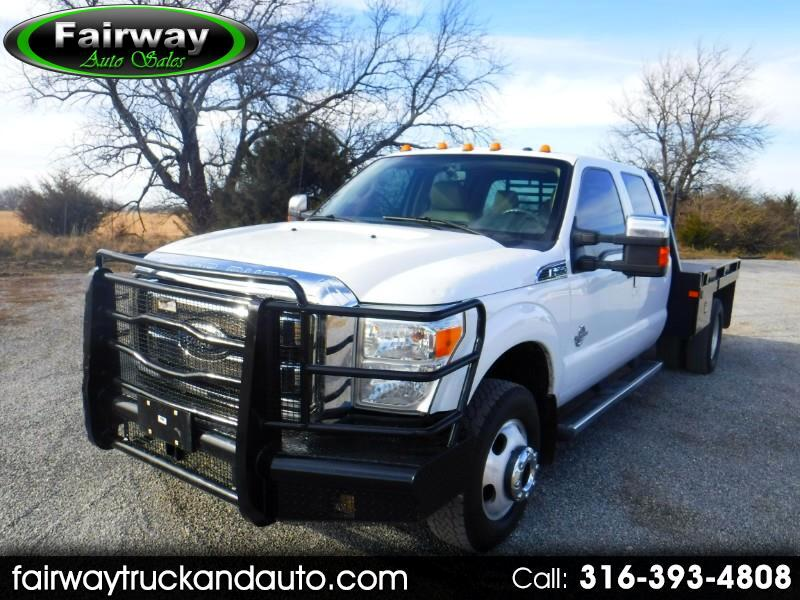 2011 Ford F-350 SD Lariat Crew Cab 4WD Flat Bed