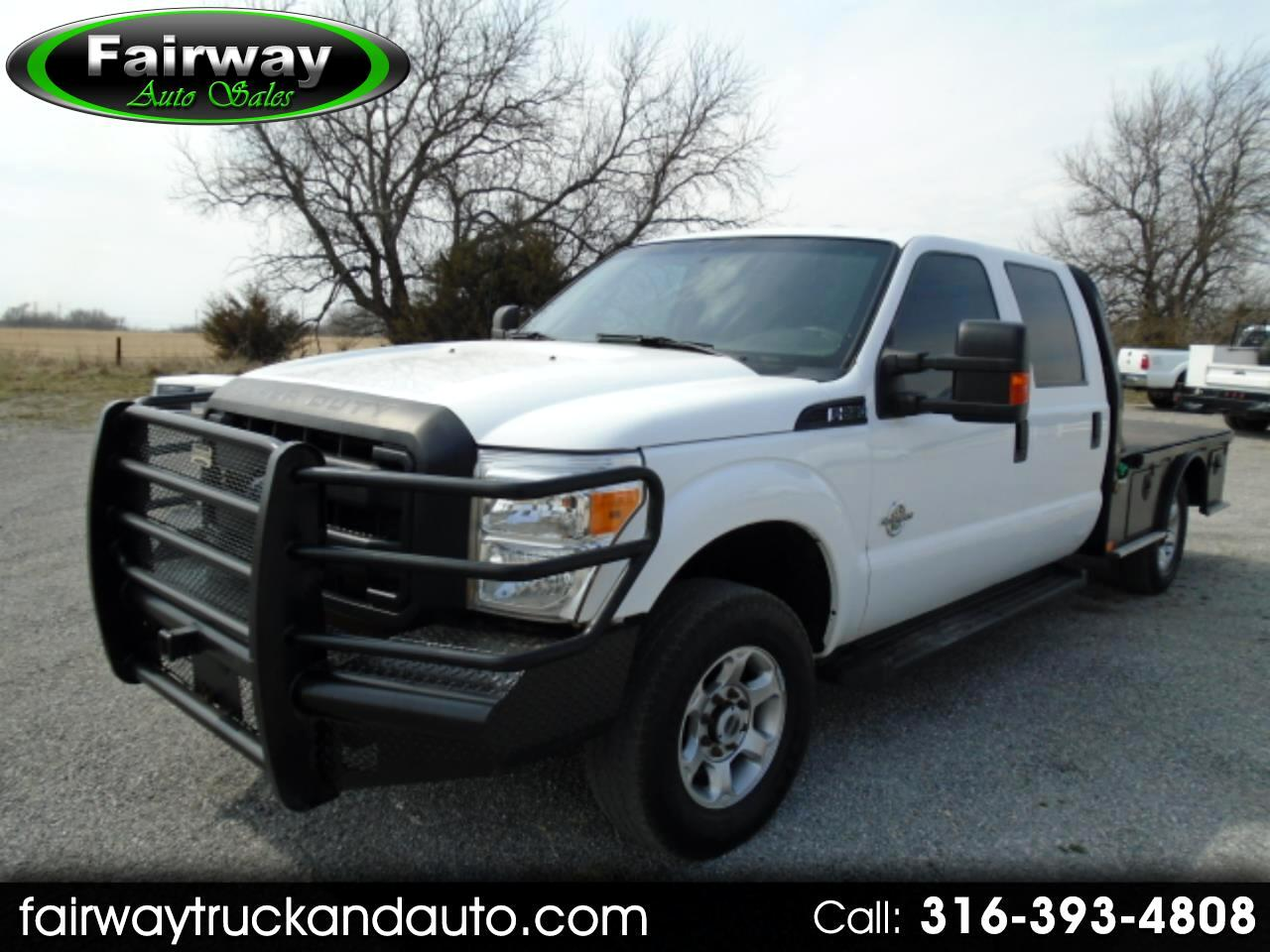 2015 Ford F-250 SD XL Crew Cab 4WD Flat Bed
