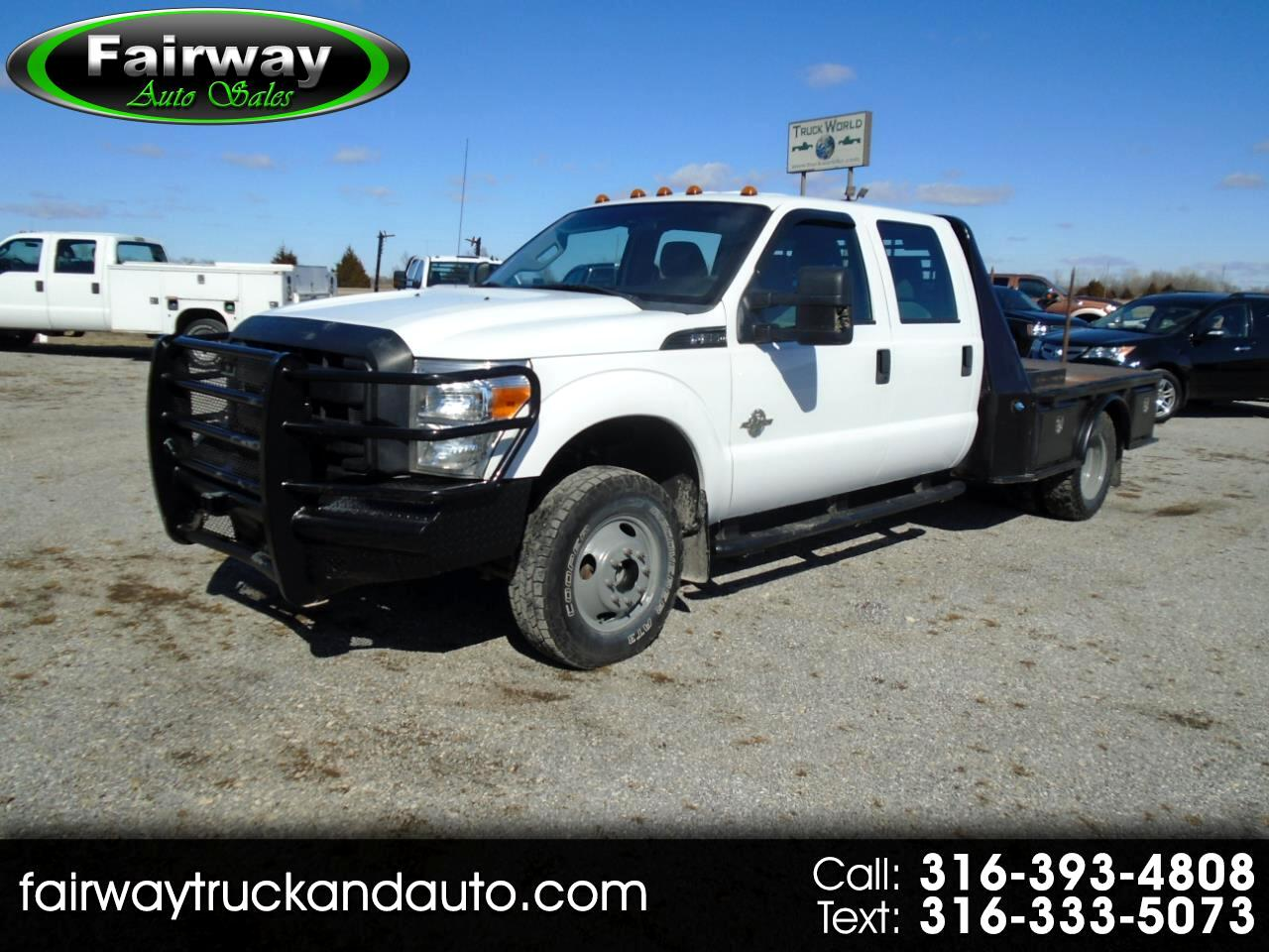 "Ford Super Duty F-350 DRW 4WD Crew Cab 176"" WB 60"" CA XL 2012"
