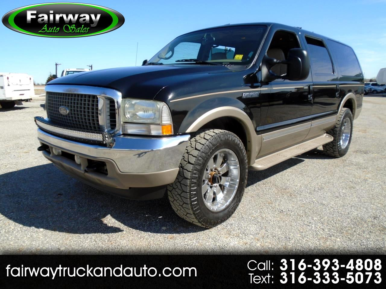 "Ford Excursion 137"" WB 7.3L Limited 4WD 2002"