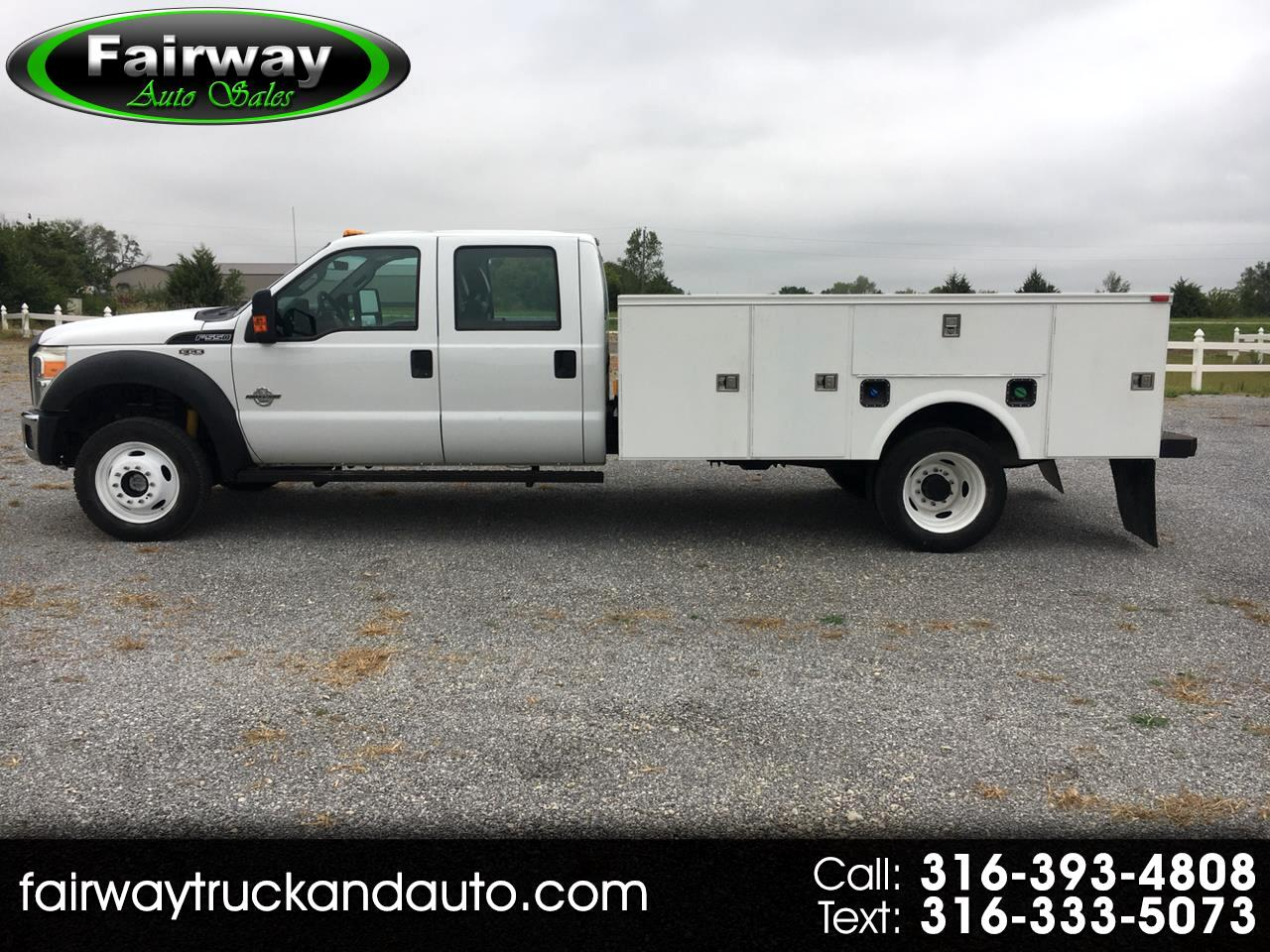 Ford F-550 Super Duty Crew Cab 4WD DRW 2012