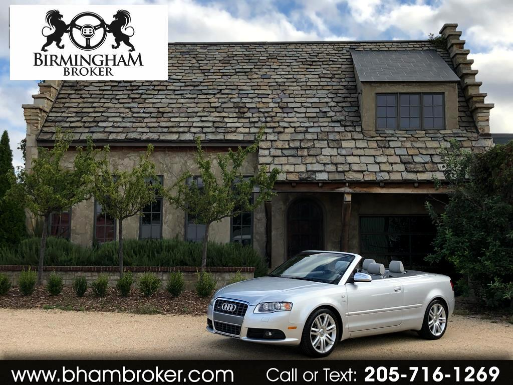 2007 Audi S4 2007 2dr Cabriolet Manual