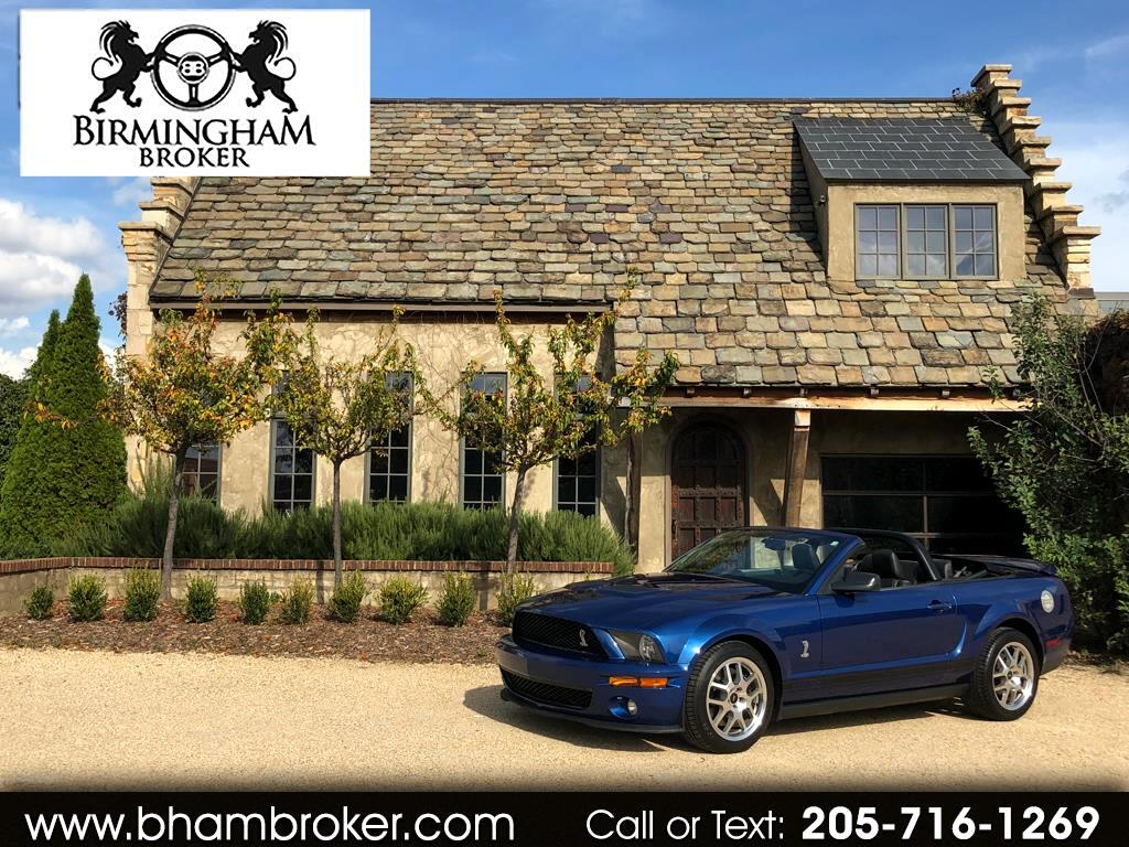 2009 Ford Mustang 2dr Conv Shelby GT500
