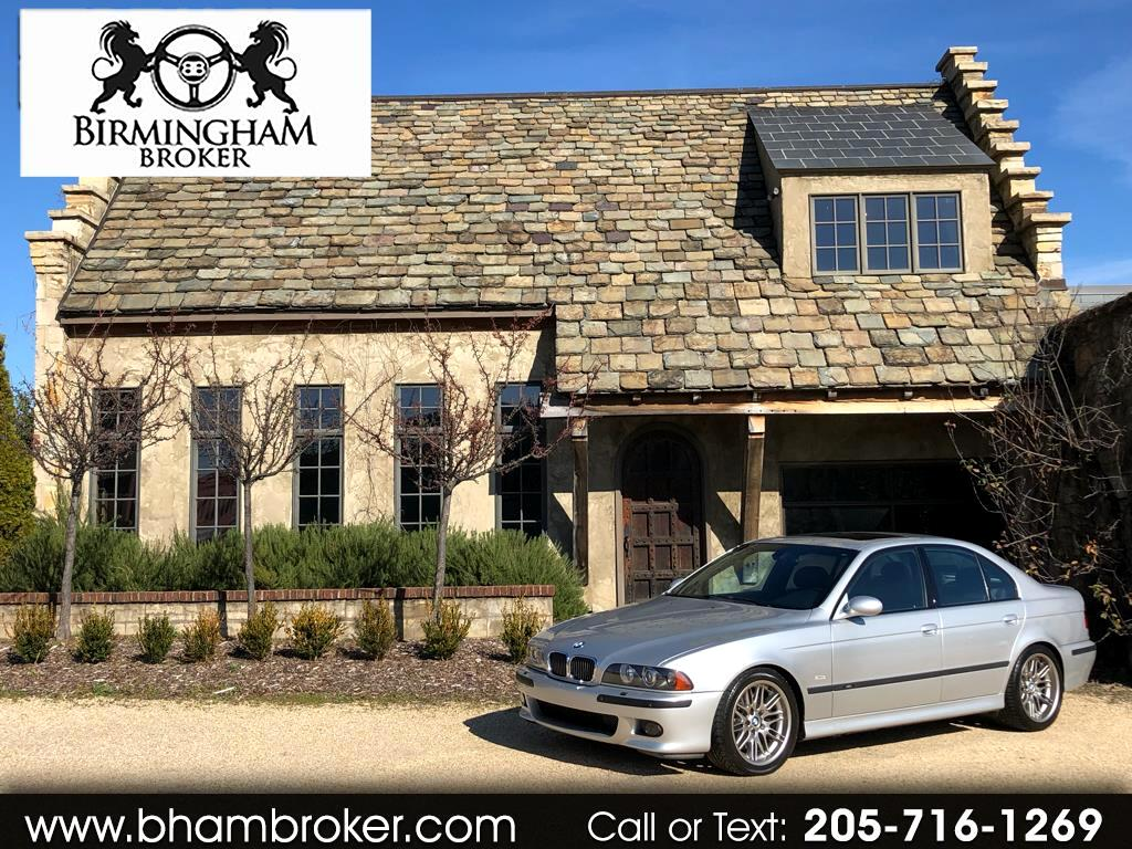 2003 BMW 5 Series M5 4dr Sdn 6-Spd Manual