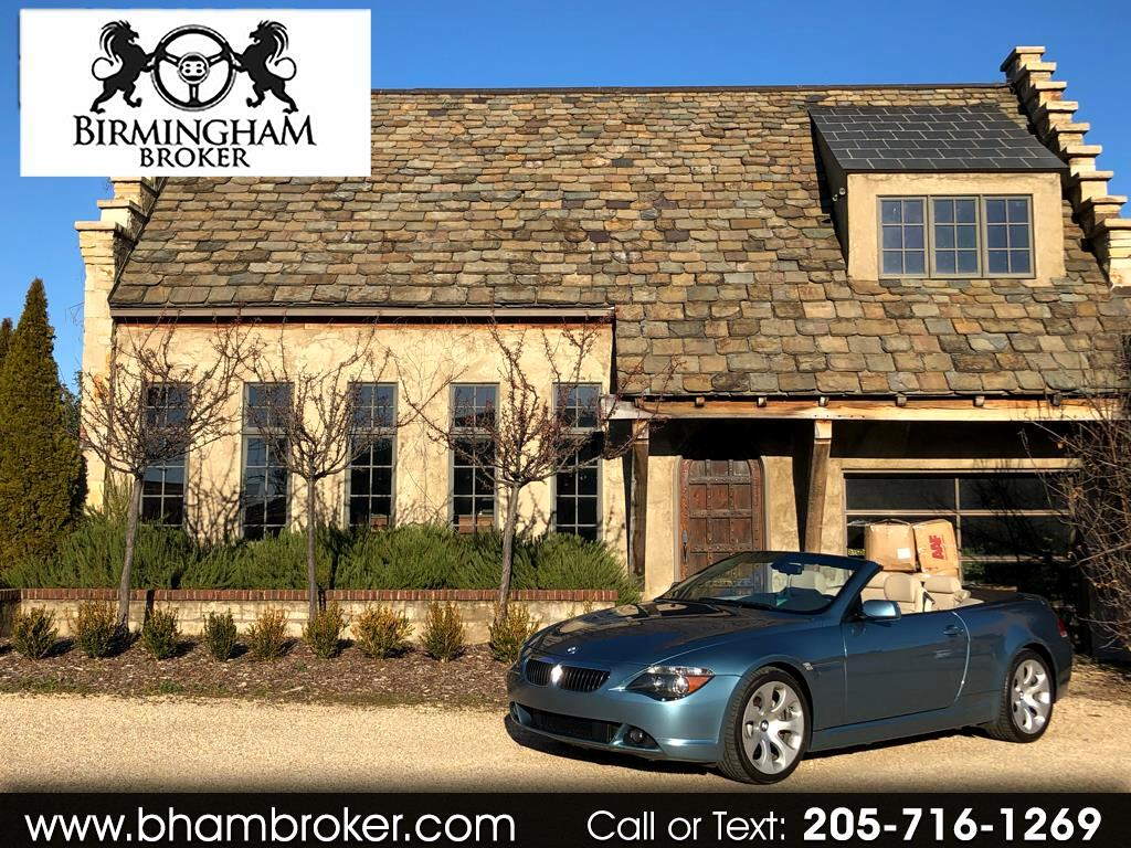 2004 BMW 6 Series 645Ci 2dr Convertible